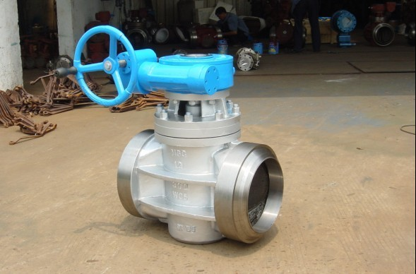 PTFE  Sleeved & Inverted Pressure Balanced Lubricated Plug Valve 316