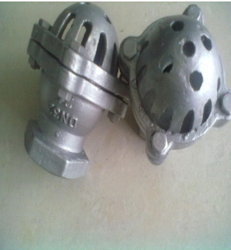 SS 316 Water Foot Valve DN80 PN6 Threaded End Use On Bottom Of The Tank