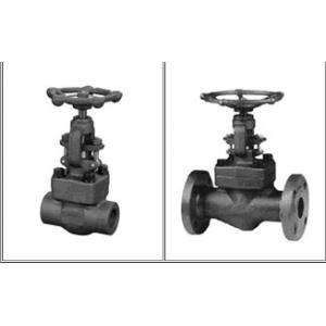 Welded Connection Flanged Globe Valve F22 Body Material Box To Weld 1""