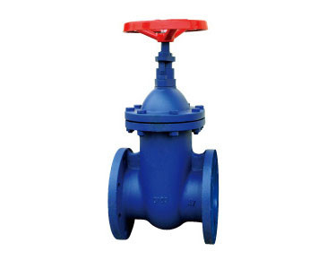 DN 300 PN 16 Cast Iron Gate Valve Flanged Brass Seat For Water